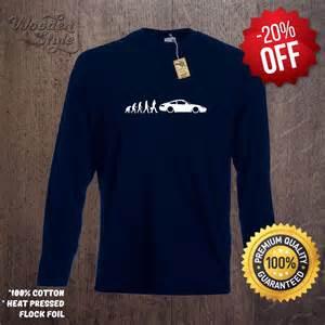 Porsche 911 Shirts Sleeve T Shirt Evolution Of Porsche 911 T Shirt
