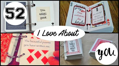 52 things i about you cards template diy 52 things i about you funnydog tv