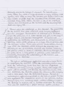theme essay for divergent metacognitive reflection geography essay year 3 tsunami