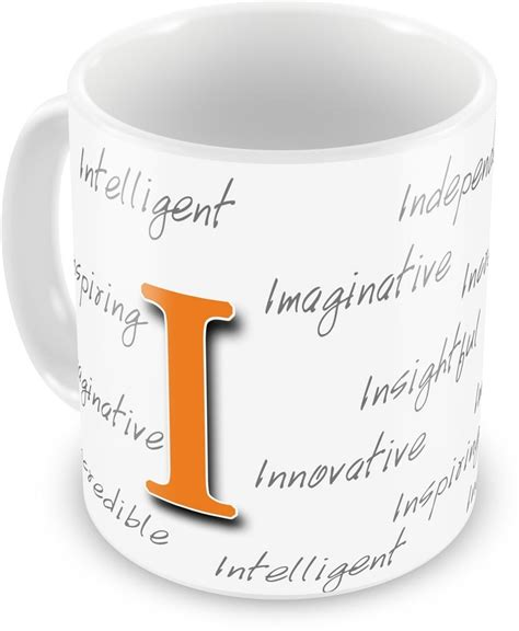 Gift Starting With Letter H Everyday Gifts Happy Birthday Gift For Starting Letter I Ceramic Mug Price In India Buy