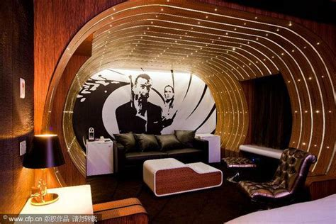 Bond Room by 007 Themed Suite Provided For Fans Of Bond