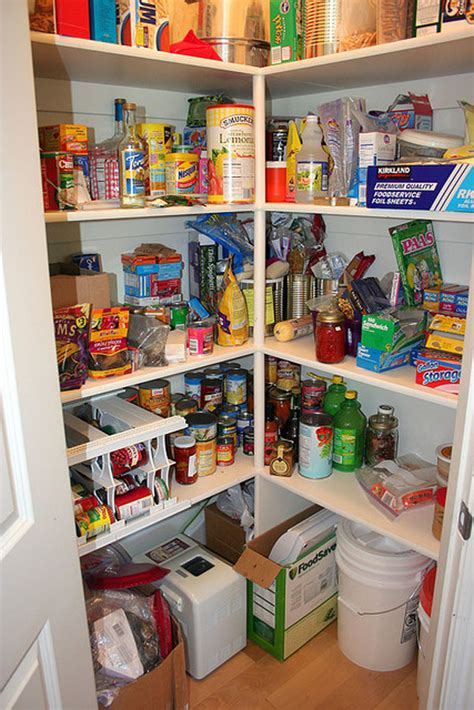How To Start A Pantry by Small Kitchen Open Pantry Must For All Downsized