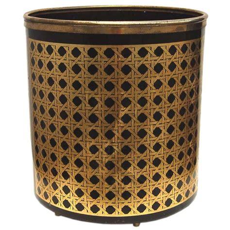 decorative waste baskets fornasetti waste basket at 1stdibs