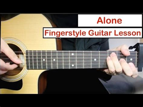 alan walker guitar hero alan walker alone easy fingerstyle guitar lesson