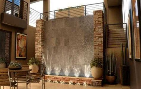 waterfall house interior modern indoor water fountain 3 pinterest indoor water fountains water fountains