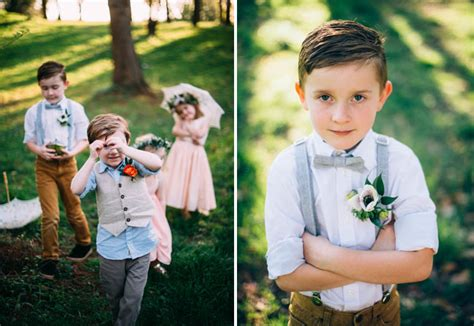 Wedding Attire Ring Bearers by Boho Styling Tips For Your Ring Bearer Flower