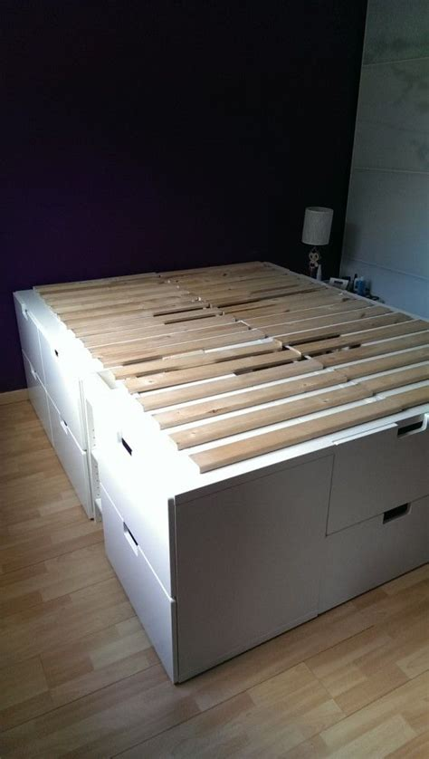 ikea platform storage bed 1000 ideas about ikea storage bed on pinterest bed