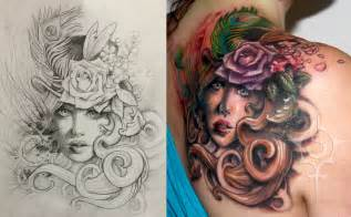 Angel Hair Decoration Adventorous Collection Of Cover Up Tattoos