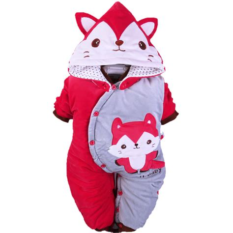 newborn baby boy girl fox onesies outfits clothes