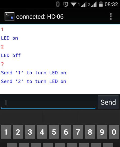 tutorial android app bluetooth tutorial using hc06 bluetooth to serial wireless uart