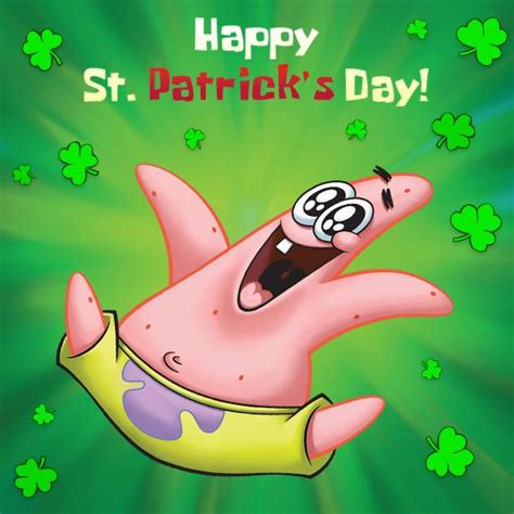 St Patricks Day Memes - happy st patrick s day spongebob squarepants know