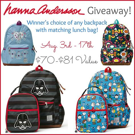 Backpack Giveaway - hanna andersson backpack giveaway