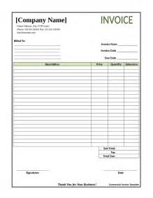 blank invoice template doc doc 433576 blank invoice document blank invoice