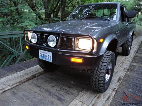 Toyota 22r For Sale 1983 Toyota 4x4 Sr5 Bed Hilux 22r Arb Low