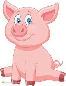 卡通猪可爱图片下载