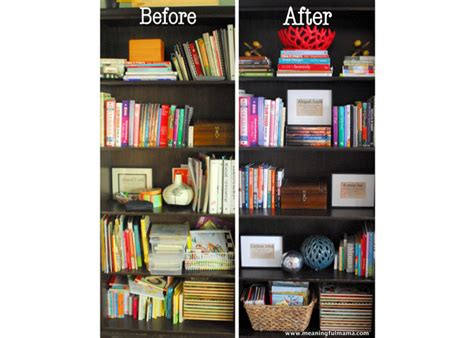 how to organize and decorate a bookshelf wayfair