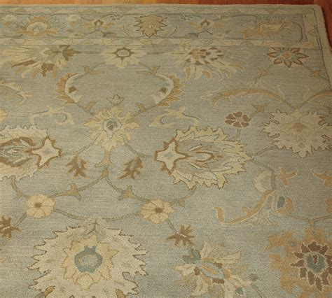 Brand New Pottery Barn Handmade Persian Style Gabrielle Pottery Barn Area Rugs