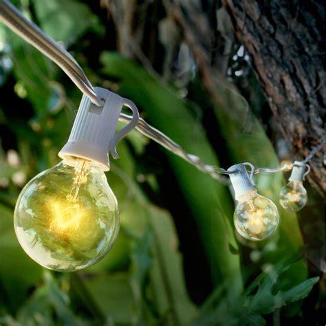 Outdoor Globe String Lights Wholesale 10 Socket Outdoor String Light Kit W G40 Globe Bulbs 49 5ft Expandable White