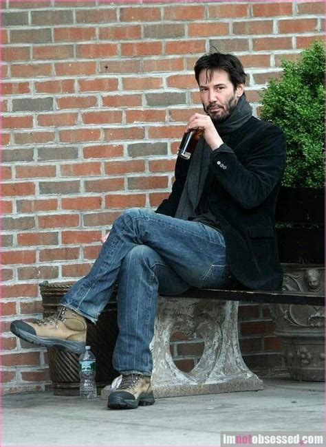 keanu reeves on a bench the 25 best ideas about keanu reeves sad on pinterest