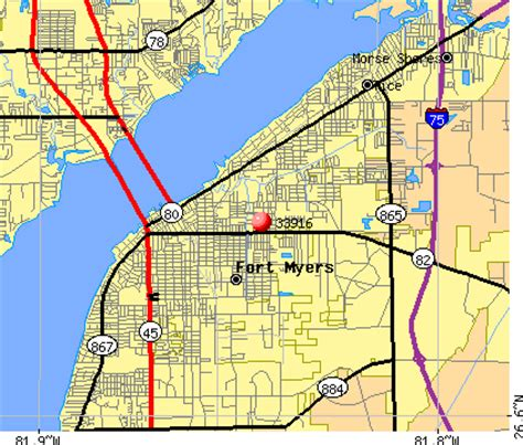 zip code map fort myers 33916 zip code fort myers florida profile homes