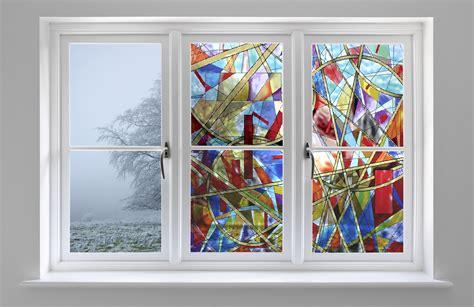 decorative glass film sxeg 4853 stained glass kaleidascope decorative films llc