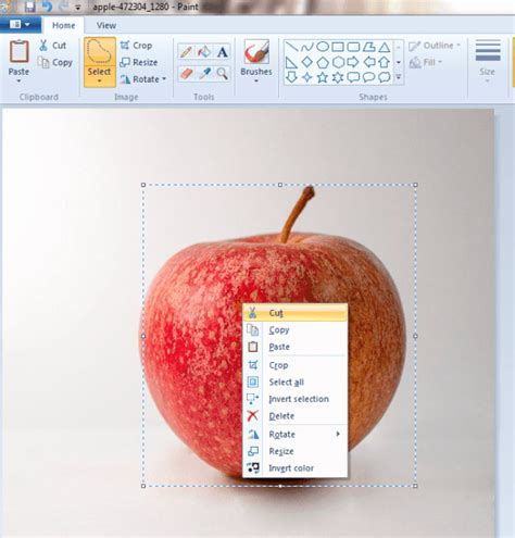 make background transparent in paint how to make background of images transparent in microsoft