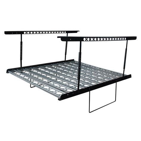 Lowes Metal Storage Racks by Shop Kobalt 60 In W X 40 In D Gray Steel Overhead Garage