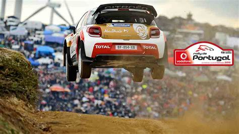 Calendã 2015 Portugal Vodafone Rally De Portugal