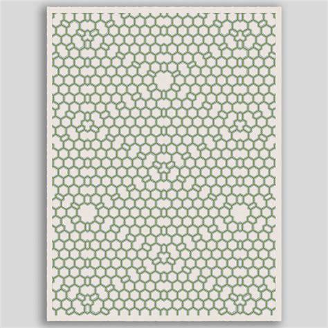 Hexagon Area Rugs by Hexagon Mutation Rug Diane Paparo