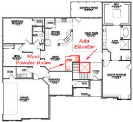 One Story House Plans With Porch How To Customize A Floor Plan Custom Home Design