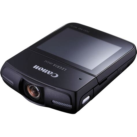 Canon Introduce 2 New Camcorders To Their Mini Dv Line by Canon Legria Mini Camcorder Pal Black 8455b024 B H Photo