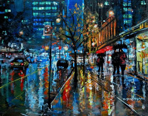 paint nite nyc phone number new york city lights23 2017 acrylic painting by