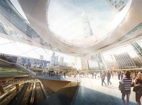 design contest for rail stations makeover a green ultra modern makeover for america s busiest train