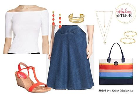 5 Ways To Go Skirting Around Fabulously by 5 Fresh Ways To Wear Summer Skirts Fabulous After 40