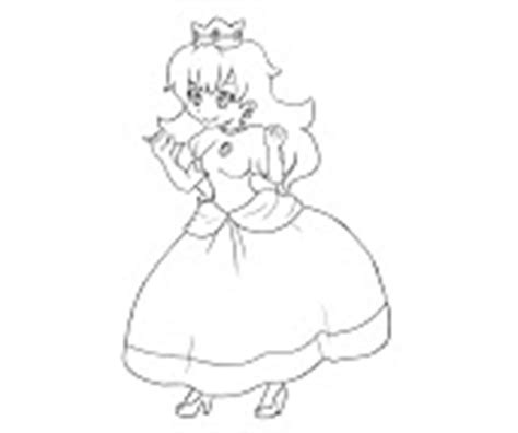 random princess coloring pages 18 princess peach coloring page