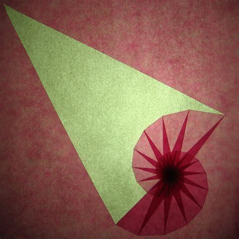Spiral Origami - spiral tomoko fuse happy folding
