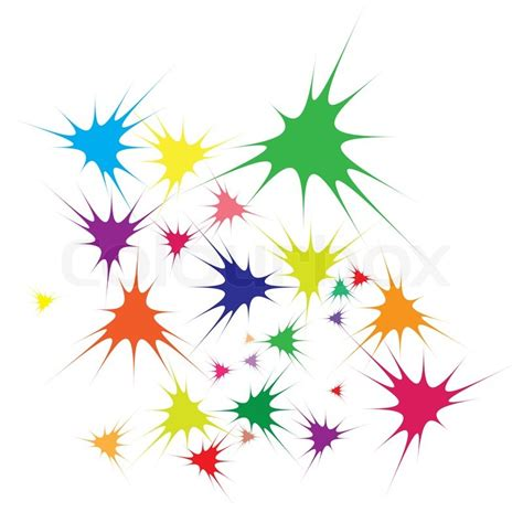 what color starts with a vector illustration of abstract color background