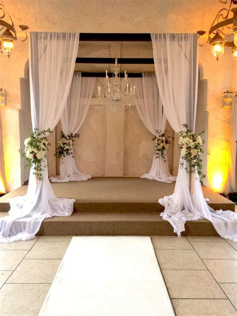 best fabric for wedding draping 1014 best aisle ceremony decor images on pinterest