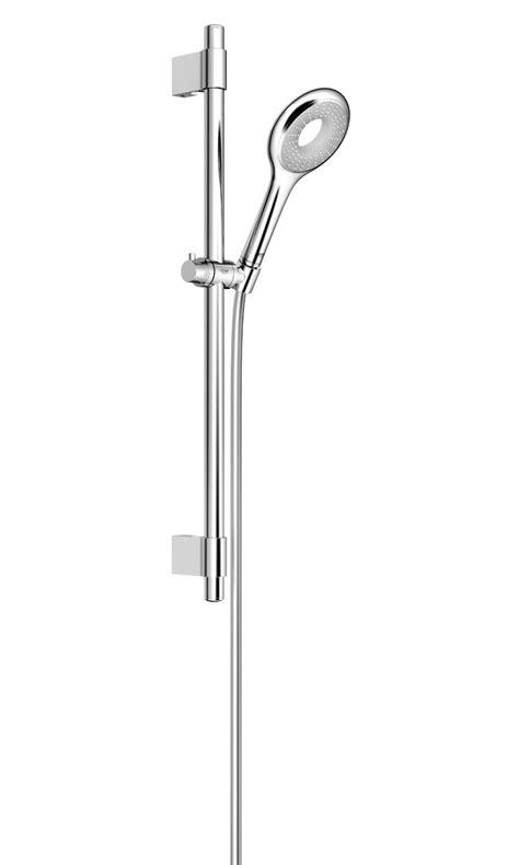 duschbrause set grohe grohe rainshower icon 100 single spray pattern shower rail set