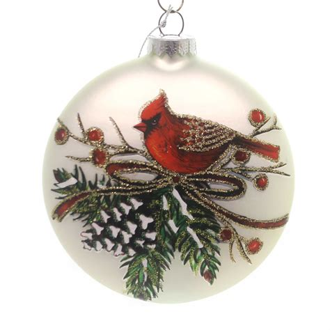 unique red cardinal christmas ornaments cardinal ornaments