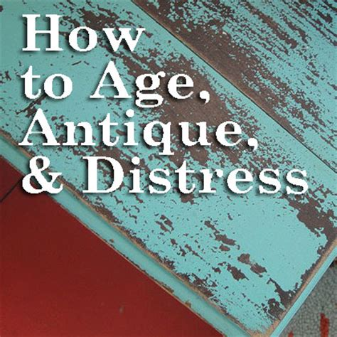 how to distress cabinets yourself aging is so distressing techniques for antiquing furniture