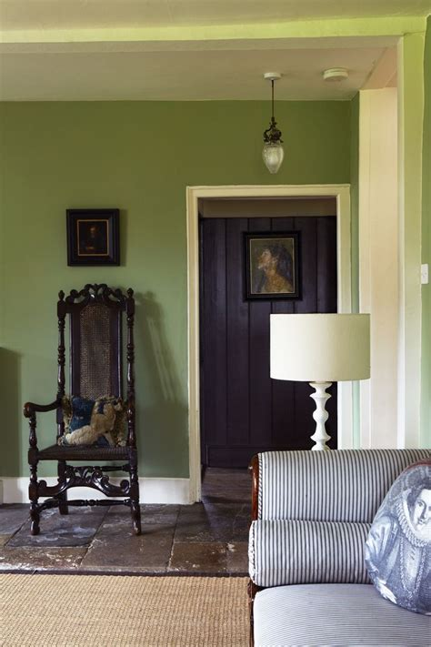 farrow and ball colours for bedrooms calke green living room interiors by color