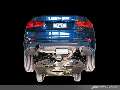 Supersprint Catback System Bmw F30 320 N20 Engine Before Lift awe tuning bmw f30 320i touring edition exhaust
