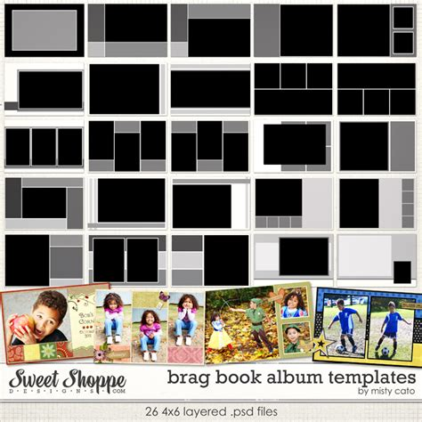 album templates sweet shoppe designs your memories sweeter