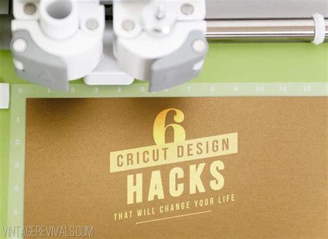 design center cricut 6 cricut explore design hacks vintage revivals
