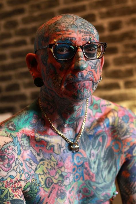 most tattooed man you ve never seen anything like this before meet the