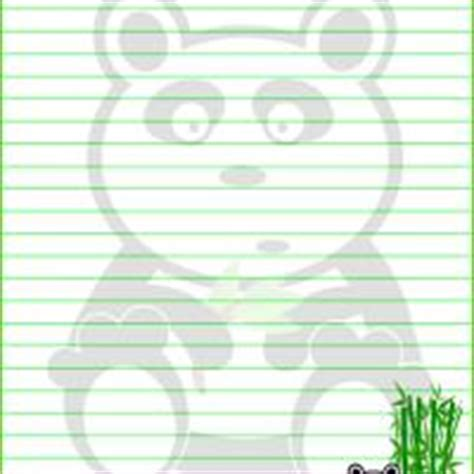 printable panda stationery panda stationery