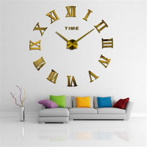 home designer pro wall length 2017new home decoration wall clock big mirror muhsein