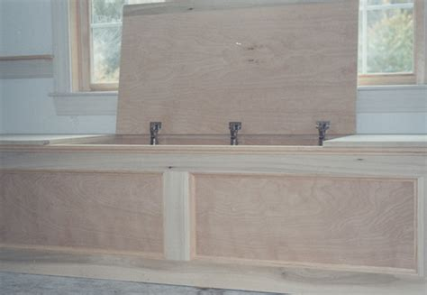 window storage bench plans window bench with storage plans free download pdf