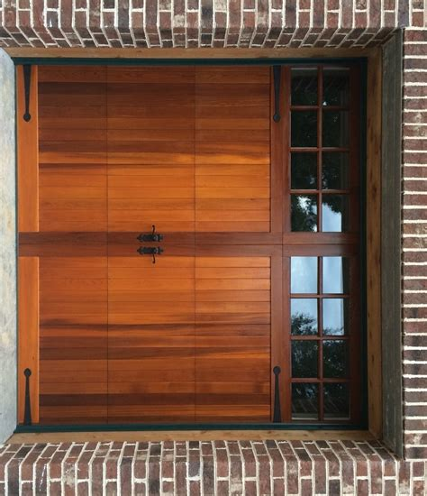 9x8 Model 5731 Western Red Cedar Wood Overlay Garage Door Western Overhead Door